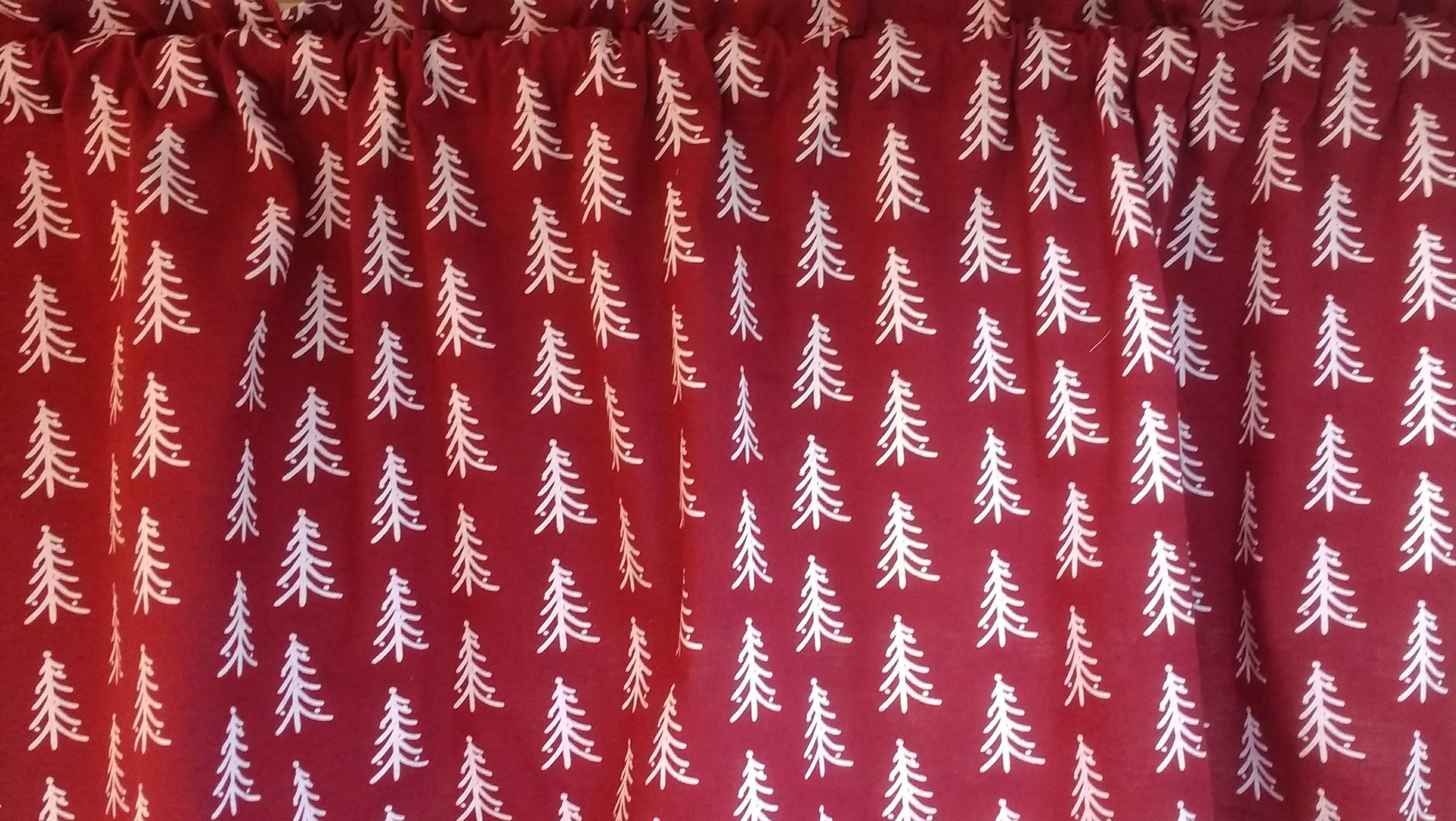 Low burgundy curtain fabric