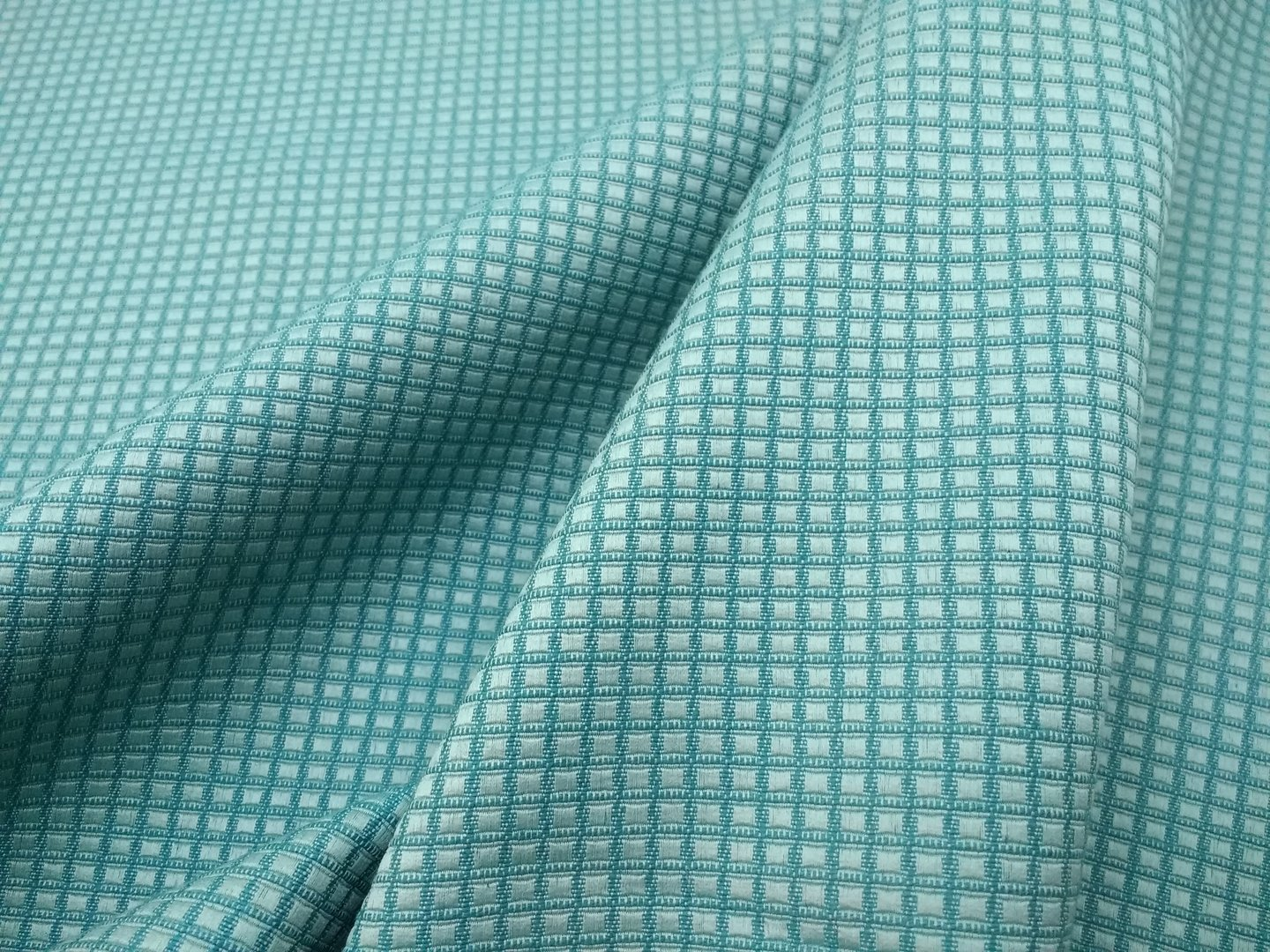 Green  interior fabric