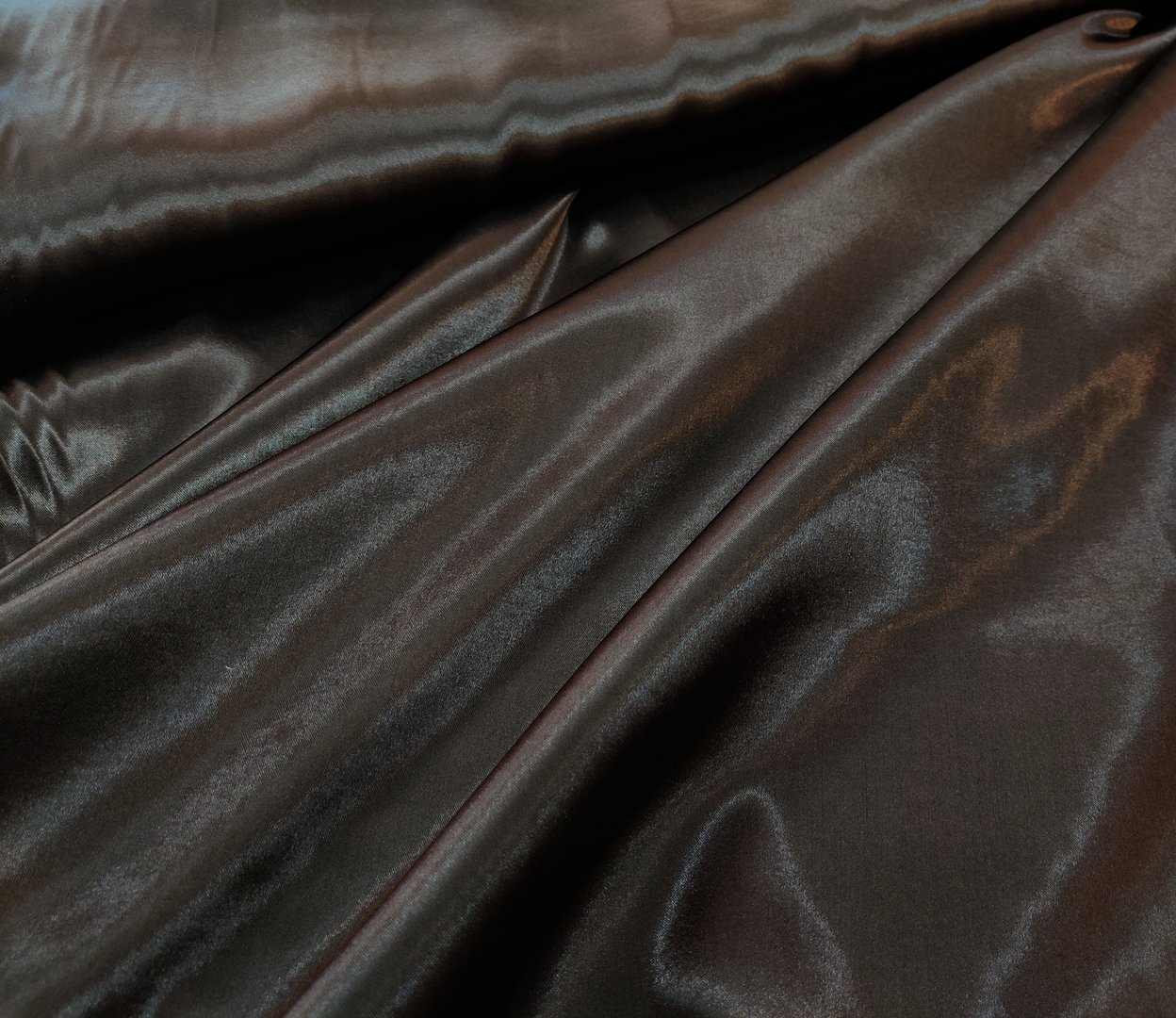 Assi satin dark brown
